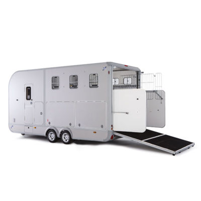 Ifor Williams Eventa L Sidelocker Gold Hestetrailer