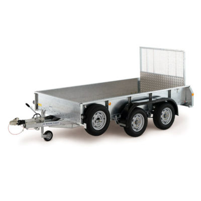 Ifor Williams GD105 Maskintrailer