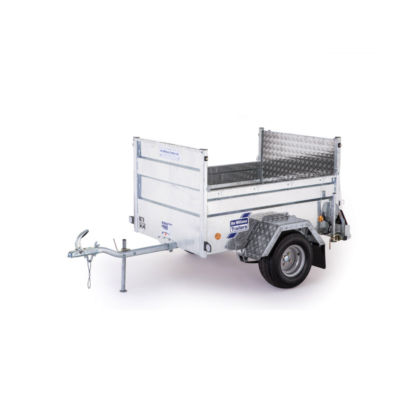 Ifor Williams Q5E On-Road Ladtrailer