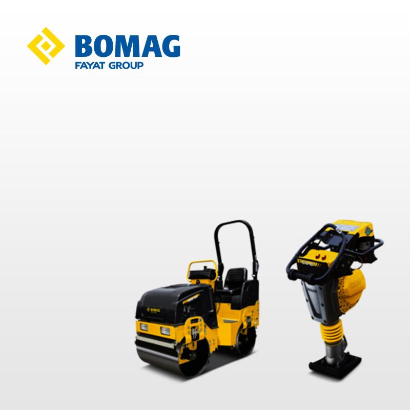 Bomag jord- & asfalteringsmaskiner