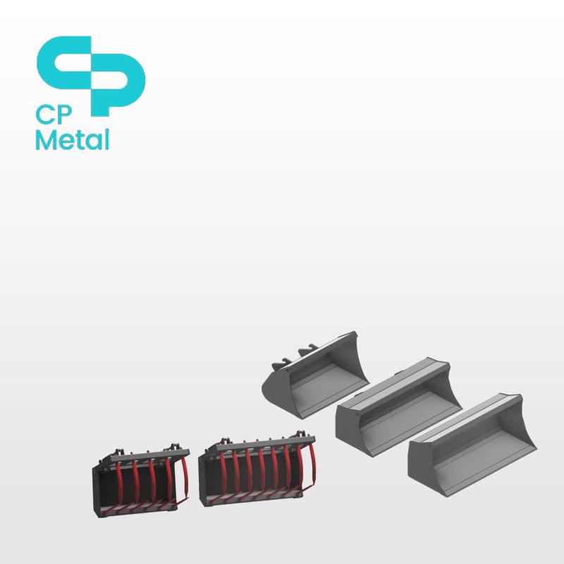 CP Metal skovle og udstyr