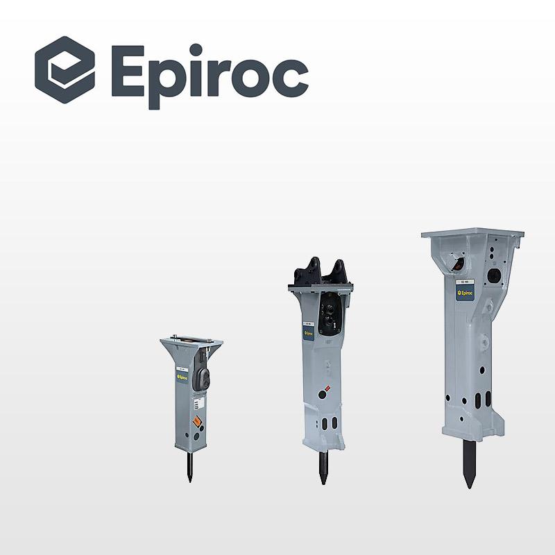 Epiroc entreprenør maskiner