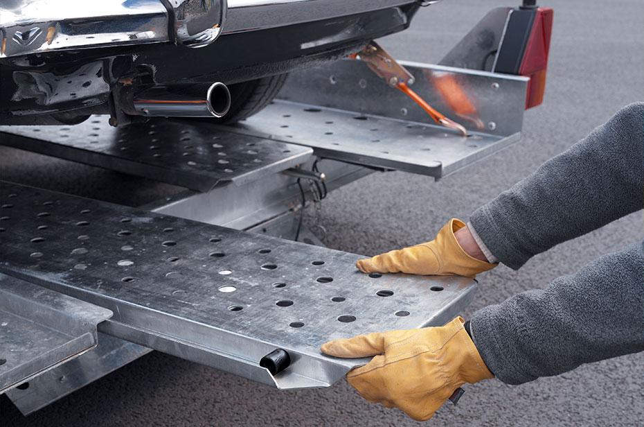 Autotrailer i varmgalvaniseret højstyrkestål